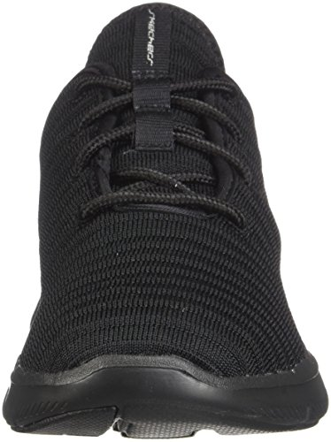 12899 Donna Sneaker Black Skechers Bbk SFwzqq0