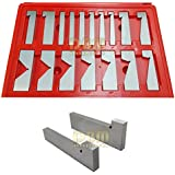 17 PCS Precise Precision V Angle Block Grinding Milling .0003 AC 1/4 - 45 Degree