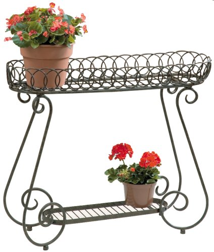 Deer Park PL107 Oval Ring Planter by Deer Park Ironworks