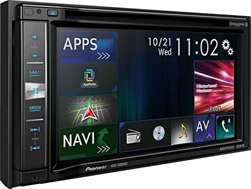 Pioneer AVIC-5200NEX Navigation Receiver with Carplay, 6.2
