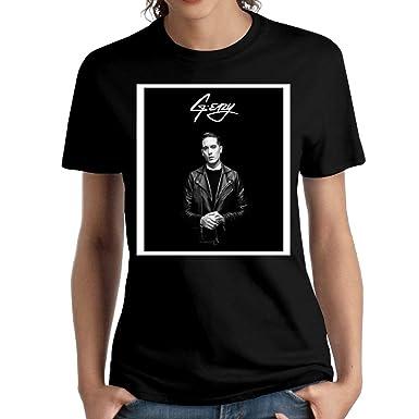 42e8a705e5c3 Amazon.com  JeffryG Women s G-Eazy Merch Short Sleeve T Shirt Black   Clothing