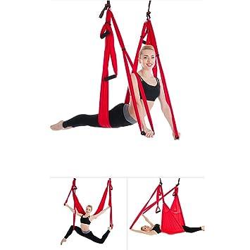 Yujia Anti-Gravedad Yoga Hamaca Descompresión De Aire ...