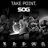 SOG CREE LED Tactical Flashlight - Dark Energy