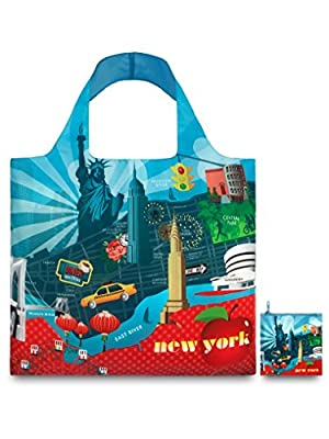 LOQI New York Reusable Shopping Bag