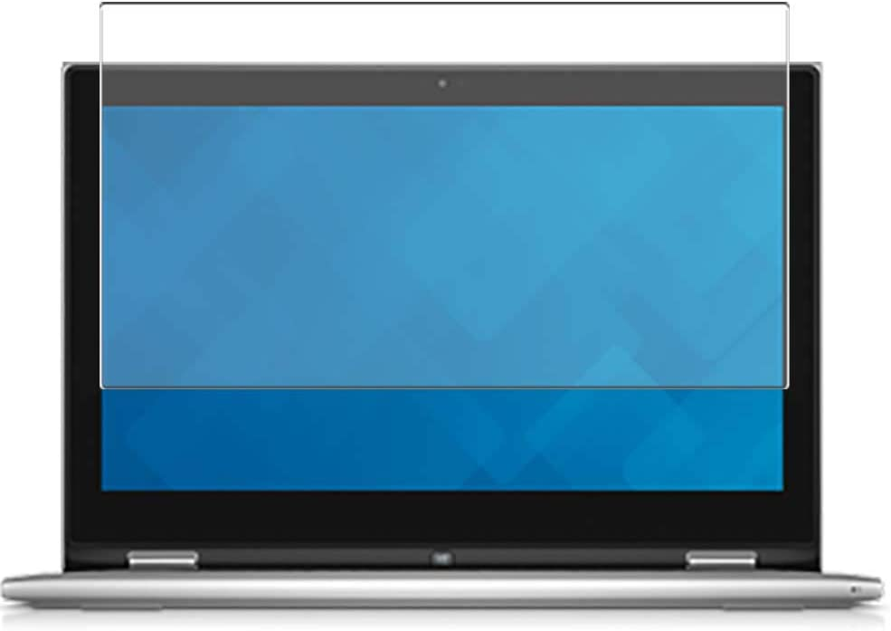 Puccy Anti Blue Light Tempered Glass Screen Protector Film, compatible with Dell Inspiron 15 7000 (7547) 15.6