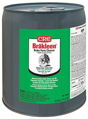 Price comparison product image CRC 5086 Brakleen Brake Parts Cleaner,  5 Gallon