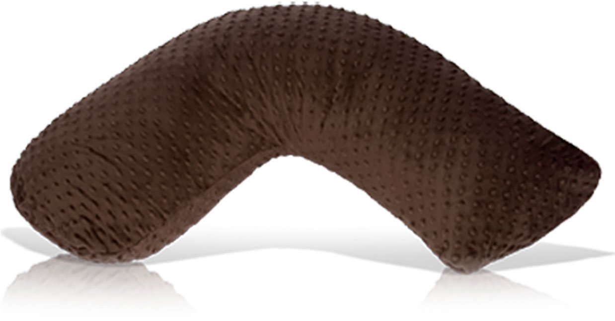 Luna Lullaby Nursing Pillow - Chocolate Dot by Luna Lullaby