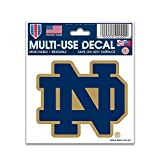 "NCAA Notre Dame Multi-Use Decal, 3"" x 4"""