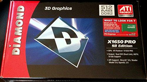 Diamond Viper ATI  X1650PRO PCIE  512MB Video (Ati Radeon X1650 Pro)