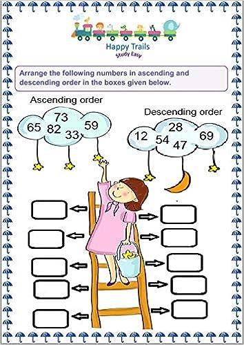 Happy Trails Maths Worksheets for Srkg Senior Kg , UKG ...