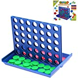 Yutin Connect 4 Game - Connect Four in a Row Line up 4,Match 4,Family Travel Game for Kids