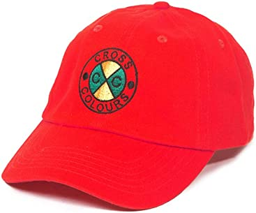 a5332218998 Cross Colours Classic Embroidered Dad Hat