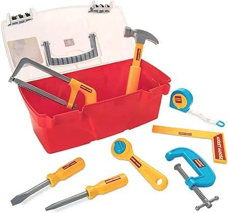 Caja de herramientas de Disney, Mickey Mouse, listo para la construcción: Amazon.es: Hogar