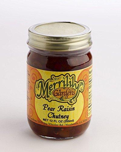 Merrilily Gardens Pear Raisin Chutney (Pear Chutney)