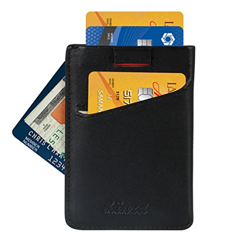 Minimalist Wallet RFID Blocking Sleeves Credit Card Holder F