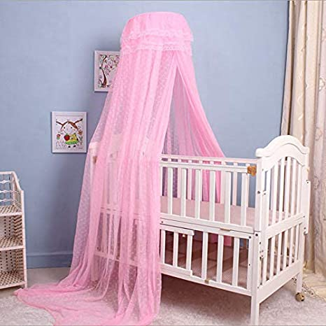 Kids Bed Mosquito Net  Bedroom  Crib Netting Bed Canopy Butterfly Netting Stand