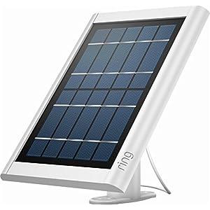 Ring 8ASPS7-WEN0 Solar Panel Spotlight Cam Battery, White