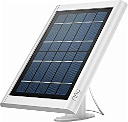Image of the product Ring Solar Panel White   that is listed on the catalogue brand of Ring. The product has been rated with a 4.7 over 5