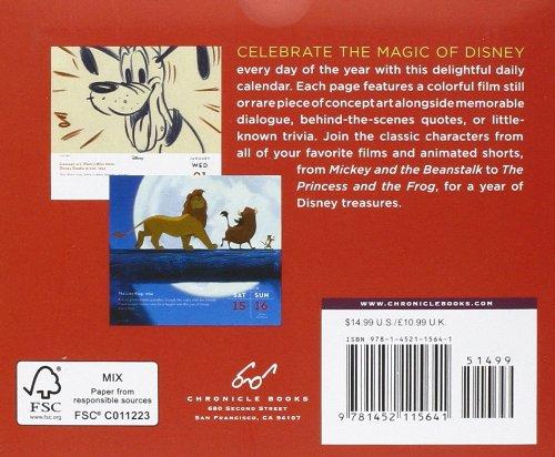 amazon disney a year of animation 2014 calendar daily calendars