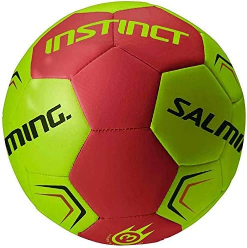 Salming - Instinct Handball, Color Lime/Red, Talla 2