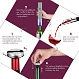 REDMOND Electric Wine Opener,6-in-1 Corkscrew and