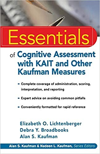 Kaufman Tests Essentials (Essentials of Psychological