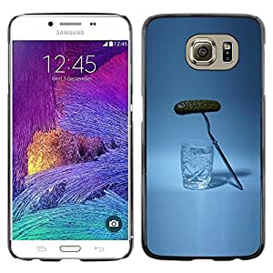 LECELL--Funda protectora / Cubierta / Piel For Samsung Galaxy S6 SM-G920 -- Russian Drinking Alcohol Pickle --