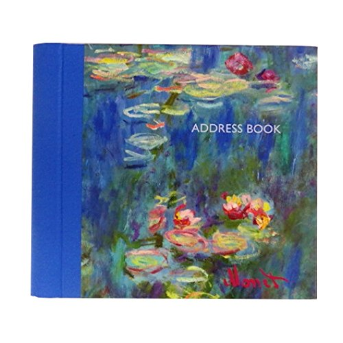 Gifted Stationery GSC01793 Dekoratives A-Z Adressbuch, Monet Design The Gifted Stationery Company