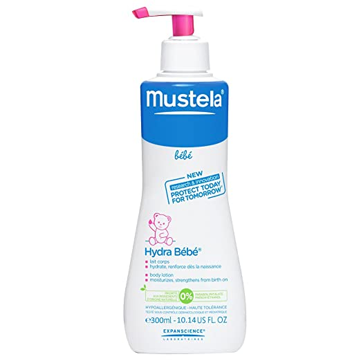10 opinioni per Mustela- Hydrabebe, Latte per il corpo bebè, 300 ml