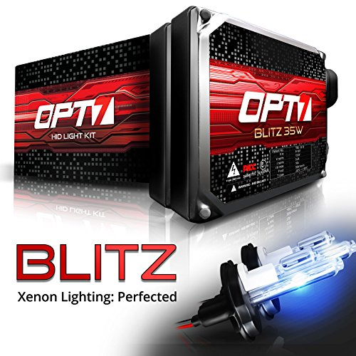 OPT7 35w Xenon HID Conversion Kit (06-12 DODGE RAM PICKUP 2500-3500) H13 Hi-Lo 6000K Lightning Blue