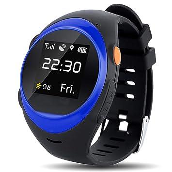 ZDY S888A Adulte/Personnes Agées Smart Watch Téléphone GPS/LBS/AGPS Positionnant SOS