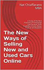 This book provides a comprehensive  look into the new and innovative  ways of selling new and used cars on the Internet using the business models of progressive companies.
