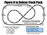 #10: LIONEL FASTRACK FIGURE 8 to a DELUXE Track Pack ADD-ON PACK o gauge