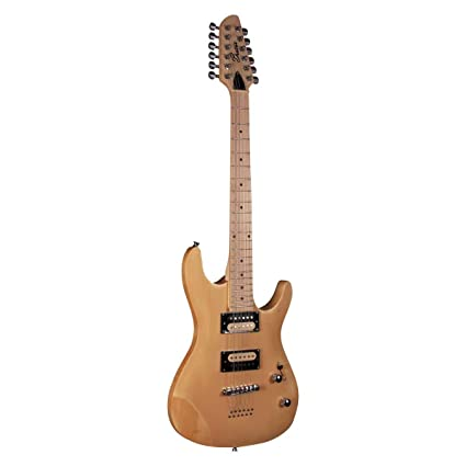 Beaton Tver 12 NA – 12 cuerdas Guitarra eléctrica con Basswood Cuerpo, geflammte Arce Top