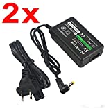 Phantomx 2x AC Adapter Home Wall Power Supply Charger For Sony PSP 1000 2000 3000 A/C