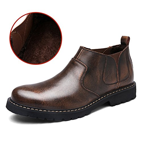 Aller Tour Hommes Gordon Cap-toe Oxford Brun-b
