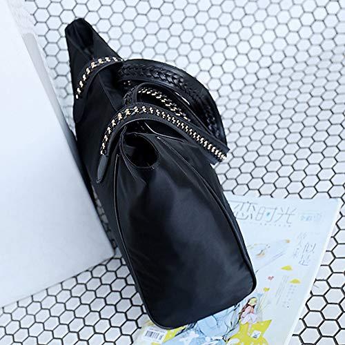 Tout Femmes Classic Zipper Fourre Cross à sac Main Redtote Sacs Capacité Vert Fourre Tout Body Noir Sacs PU QZTG Grande À Noir pour main xXaTTZz