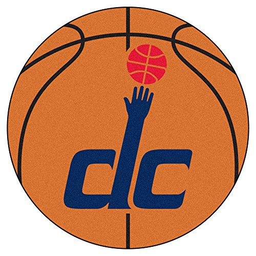 Fan Mats Washington Wizards Basketball Mat, 29'' x 29'' by Fanmats