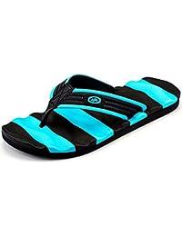 Muryobaoo Flip Flops For Men Non Slip Summer Beach Slippers Large Size Extra Wide Platform Thong Sandals