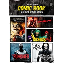 The Ultimate Comic Book 5-Movie Collection (The Crow / The Punisher / The Spirit / Kick-Ass / Conan the Barbarian) (2013)