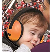 KidCo Whispears Infant & Child Hearing Protection (0-5 Years), Orange