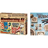 Ultimate Kids Woodburning Bundle w/ NSI Wood Burning Kit and Learn to Burn: A Step-by-Step Guide to Getting Started in Pyrography; Easily Create Beautiful Art & Gifts Step-by-Step Projects