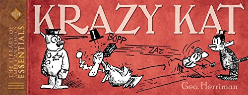 LOAC Essentials Presents King Features Volume 1: Krazy Kat 1934 (Funny Jokes In English For School Magazine)