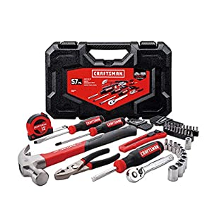 CRAFTSMAN Home Tool Kit / Mechanics Tools Kit, 57-Piece (CMMT99446)