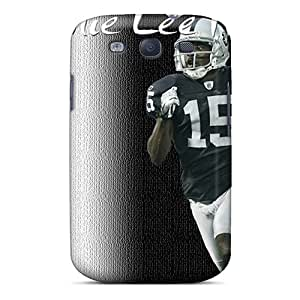 High Grade MiniBeauty Flexible Tpu Case For Galaxy S3 - Oakland Raiders