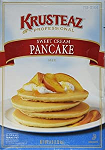 5 Pounds Krusteaz Sweet Cream Pancake Mix Just Add Water