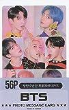 K-POP Group 2019 New Photo Message Card 56pcs set (Postcard / 56sheets) (BTS)
