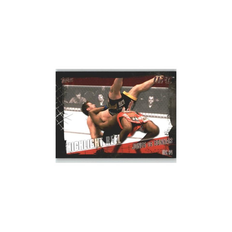 2010 Topps UFC Trading Card # 191 Jon Jones vs Stephan Bonnar