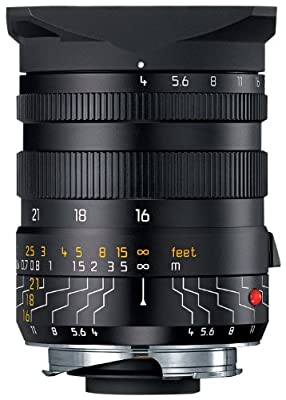 Leica 16-18-21mm f/4.0 M-Tri-Elmar 35mm Wide Angle Lens with Universal Finder (11642) from Leica