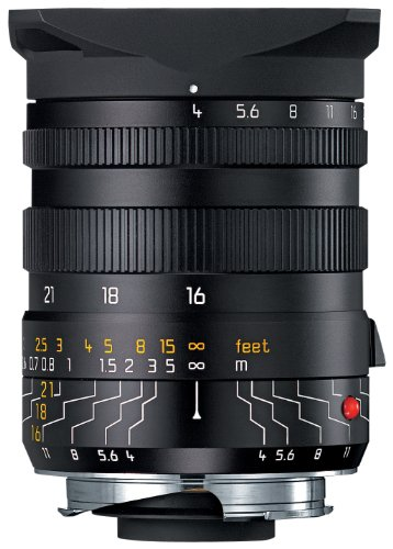 Leica 16-18-21mm f/4.0 M-Tri-Elmar 35mm Wide Angle Lens with Universal Finder (Leica Digital Series)